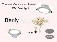 4 Inch Thermal Conductive Plastic cover Aluminum LED Dowlighting