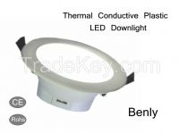 Hot sell Thermal Conductive Plastic LED Lighting 3 Inch