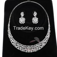 Sell Alamodeonline Rhodium AAA Grade CZ Bridal Jewelry Sets