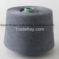 30s Waxed 100% Polyester Spun Yarn with Gray Color (Close Virgin)