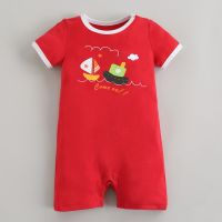 sell Cotton Baby Romper Baby Clothes Baby Boy Jumper Baby Summer Sunsuit Cotton Fabric