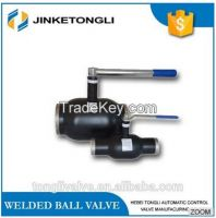 150lb forged steel double flange full welded ball valve stainless steel stem