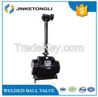 150lb Hebei All welded ball valves of extension rod