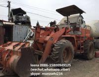 used hitachi LX70-2 wheel loader
