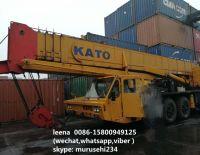 used kato 80tons truck crane slightly used