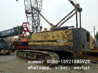 used japan brand 35t crawler crane in cheap price
