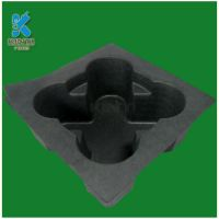 Pulp Molding Sugarcane Bagasse Pulp Bio Degradable Packaging Trays
