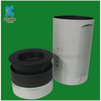 Black Color Biodegradable Water Bottle Packaging Box