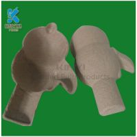 Custom Eco Friendly Yellow Pulp Paper Molded Products