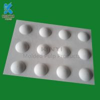 Custom high-end plant pulp cosmetics packaging paper tray