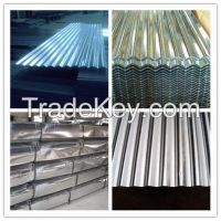 Hot Selling Galvanized Corrugated Roof Sheet / Aluzinc Coated Roof Sheets