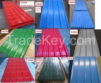 Sell Prepaited Embossed Galvanized Corrugated Steel Sheets