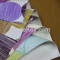 vacuum embossed PVC leather for handbag and purse usage
