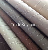 Semi PU leather for home decoration usage