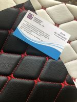 PVC leather for car seat cover and car floor usage