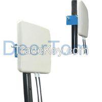 3400-3600MHz 3500MHz 3.5GHz Wimax Dual Polarization MIMO Panel Antenna 14dBi