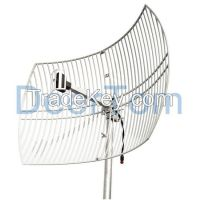 2500-2700MHz 2600MHz 2.6GHz 4G LTE Wimax Grid Parabolic Antenna 24dBi High Gain Base Station Router Modem Antenna