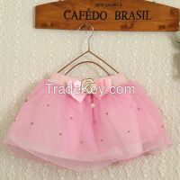2015 newest fashion design gilrs skirts wholesale fashion children clothings