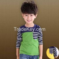 2015 new style fashionable 100% cotton children's t-shirts