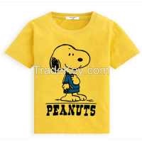 Hot selling high quality t shirts for boys OEM your design kids clothes factory