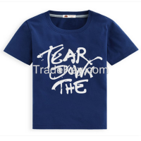 New design high quality boys shirts OEM your design kids clothes factory
