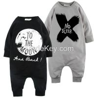 OEM baby clothes, clothing manufacturers in china for funny baby onesies clothes High Quality Children Clothing Factory