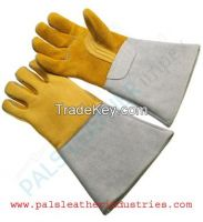 New Man Safety Leather Working Gloves