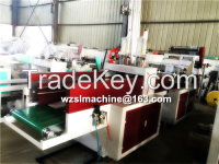 Sell Shopping Bag Making Machine/ Two Line Bag Making Machine with Puncher