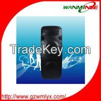 "Best price Trolley speaker 15"" hifi portable speaker box professional"