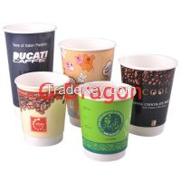 Ripple Paper Cup for Drinking Disposable Paper Cups