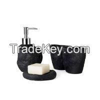Natural Sandstone Bathroom Set available in different color