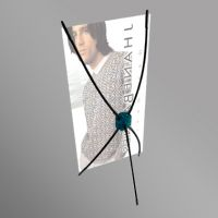 Table Top X Banner Display (ZL3-2)