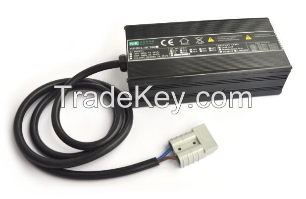 NHK 500W series 12V 25A car battery charger applicable to lead acid battery & lithium battery