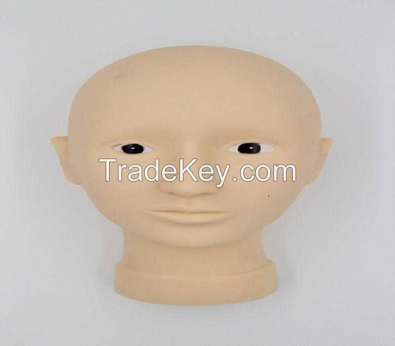 Permanent Makeup 3D Practice Model Head