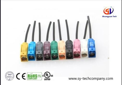 Fakra Jack RF Coaxial Cable Assembly