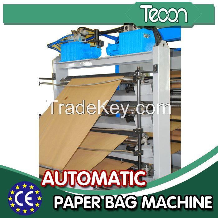 High Output Paper Bag Making Machine