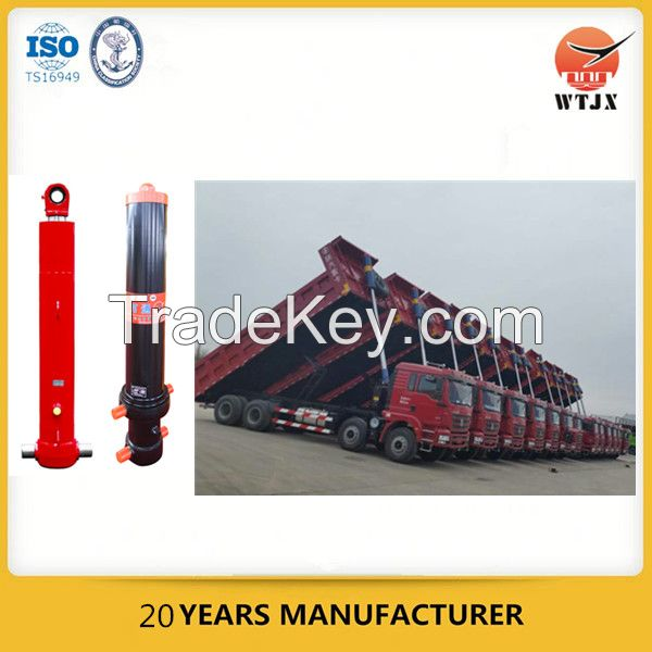 hydraulic lifting telescopic cylinders for vehicle