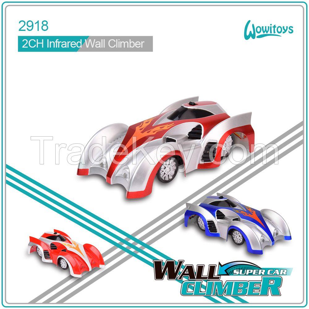 Toy Vehicle racing car and Infrared Wall Climber Car, rc car and climber