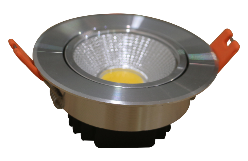 5W 7W Silver Round Led Spot Light