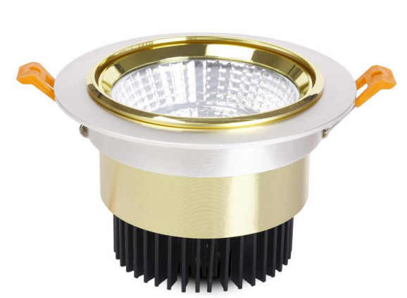 3w/5w/10w/20w/30w Gold Recessed Led Ceiling Downlight