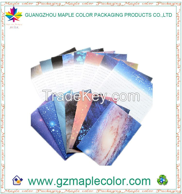 2015 bright sky art paper envelope