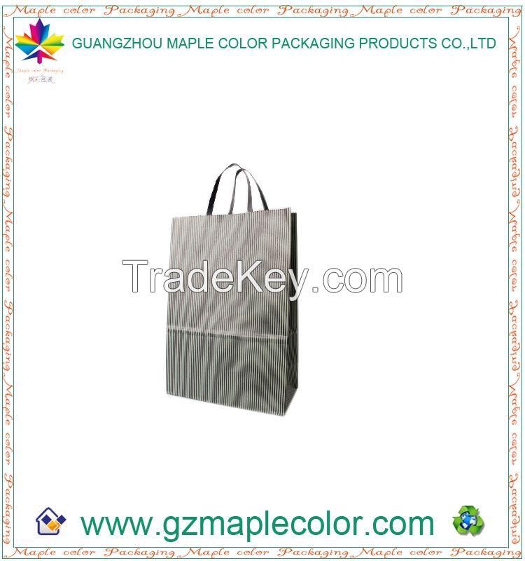 2015 offset printing custom logo paper bags