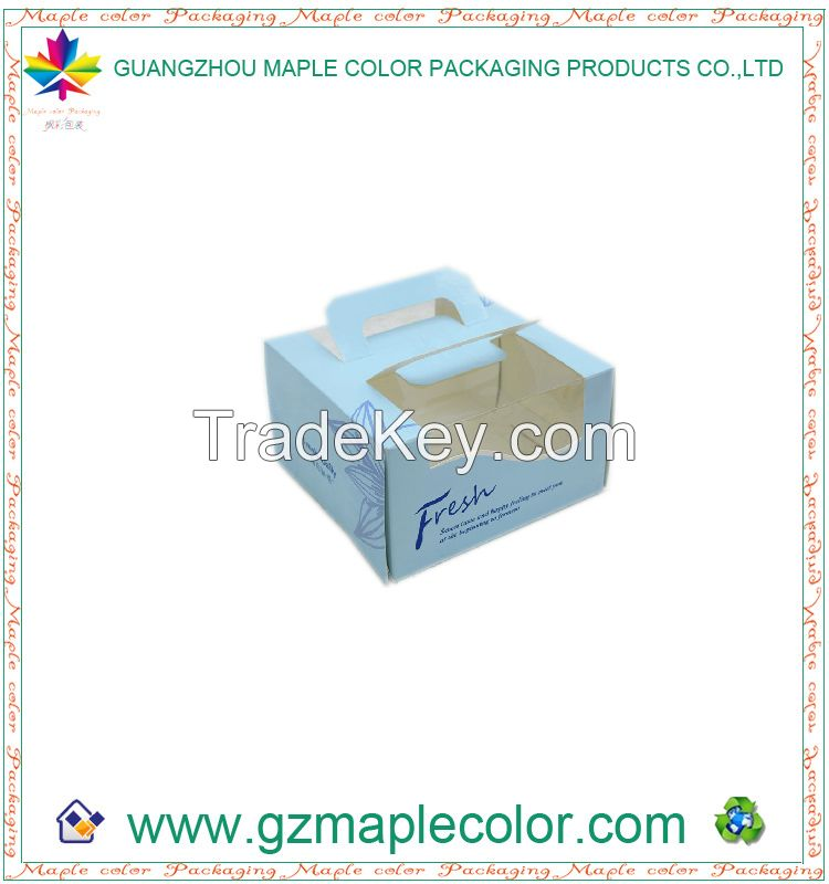 2015 high quality practical cake boxes whosale