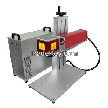 10W fiber marking machine for stainless steel