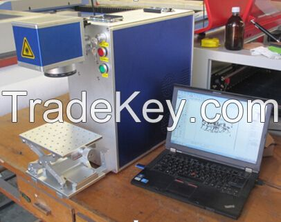 fiber laser marking machine for copper, tungsten, aluminium,