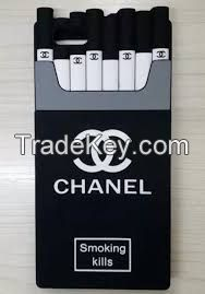Cell Phone Case 3D Smoking silicone cases