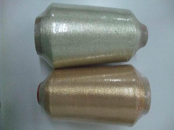 metallic yarn,blend yarn,