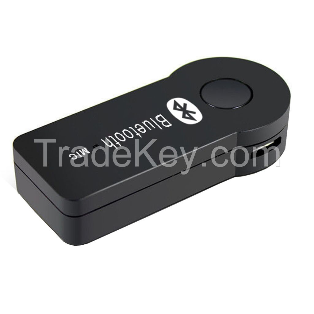 Bluetooth Music Receiver Audio Streaming 3.5mm Stereo Home Car Wireless Adapter