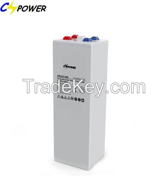 Opzv Tubular Gel Battery 2V800ah for Solar Power 20years Life