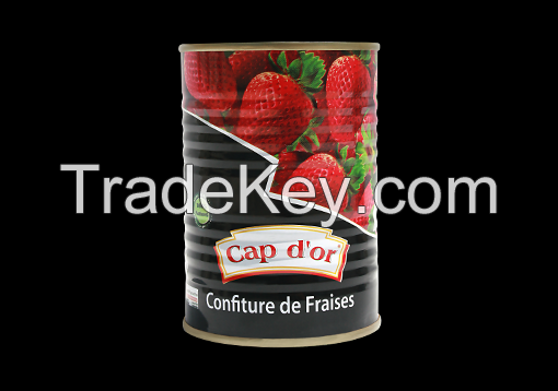 Health food canned Strawberry Jam